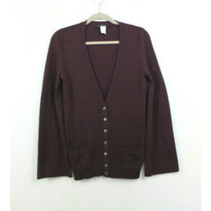 Marc Jacobs Wool Cashmere Blend Cardigan Sweater